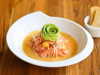 Ceviche de salmón