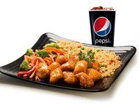 Pollo Mandariyaki + Gaseosa