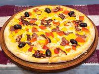 Pizza Bacon y Cheddar
