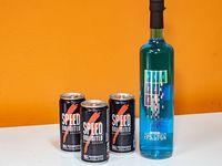 Combo - Frizze 750 ml + 3 energizantes Speed 250 ml