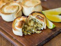 Empanada de verdurasy mozzarella