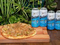 Combo - Pizza a elección + 4 Cervezas Quilmes 473 ml