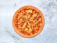 Pizza Mediana Tradicional Pollo y Champiñones