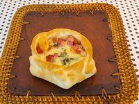 Canastitasde roquefort y jamón