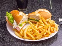 Sandwich de milanesa completo