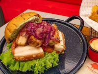 Hamburguesa Súper Porkos