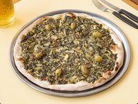 Pizza de verdura a la piedra (8 porciones)
