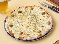 Pizza fugazzeta a la piedra (8 porciones)