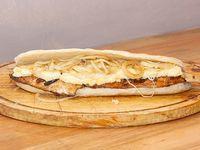 Sandwich de pollo fugazzeto