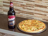 Promo 6 - 1 Pizza grande de muzzarella + 1 cerveza 1 L o gaseosa linea Coca-Cola 1.5 L