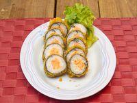 Hot maki sal (10 piezas)