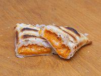 Empanada de calabaza y provolone