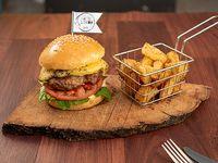 Hamburguesa La Clásica + fritas