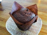 Muffins de chocolate con dulce de leche