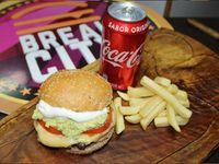 Italiana Luco Burger + Papas fritas + bebida