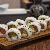 Uramaki Philadelphia roll (10 piezas)