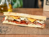 Chicken ranch sándwich