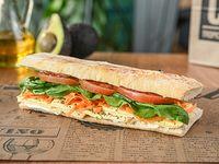 Veggie minas sándwich
