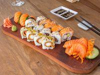 Combinados 18 Clasicos con Nigiris y Sashimi