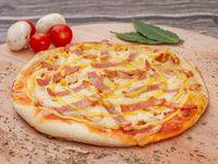 Pizza Pollo Tocineta y Miel Mostaza