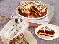 Cheesecake Red Velvet Mediano + Litro de Helado