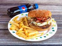 Hamburguesa Especial de Pollo