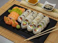 Tabla samurai (salmón) - 30 piezas