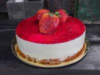 Cheesecake de frutilla (porción)