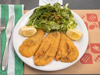Milanesa de berenjena (light)