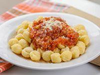 Menú - Ñoquis con salsa a elección