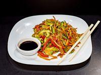 Wok box chop suey
