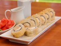 49 - Chicken cheese tempura roll (8 unidades)