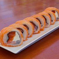 66 - Sakedu roll envuelto en salmón (8 unidades)