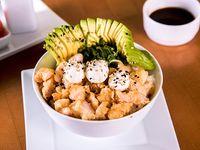 147 - Gohan ebi cheese tempura