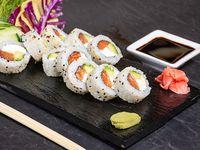 Sake New York Phila roll (10 piezas)