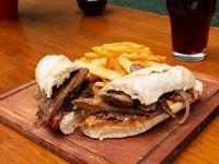 Combo - Bondiola con queso y bacon
