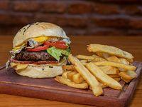 Combo burger - EGGXPLOSIVO
