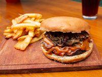 Combo Burger - Bacodeitor + papas fritas