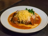 Lasagna de carne y verdura