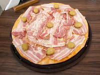 Pizza de panceta