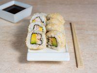 Ebi crispy roll (8 piezas)