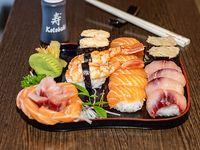 Combi 2 - Nigiri y sashimi  (25 unidades)