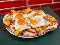 Promo 10 - Pizzeta suprema + 2 fainá + refresco de 1 L