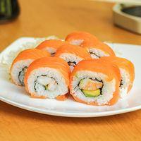 Sake roll (8 bocados)