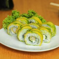 Ebi tempura roll (8 bocados)