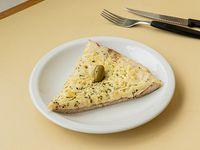 Pizza provolone (porción)