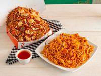 Arroz Oriental con Espaguetis