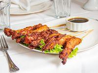 60 - Pollo con salsa teriyaki
