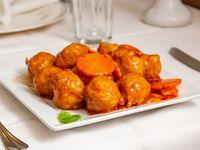 72 - Cerdo frito con salsa agridulce