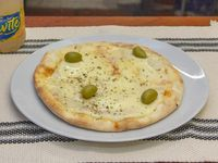 Promo 3 - Pizza con muzzarella individual + gaseosa en lata 354 ml